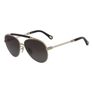 NWT Chloe Aviator Sunglasses CE141SP